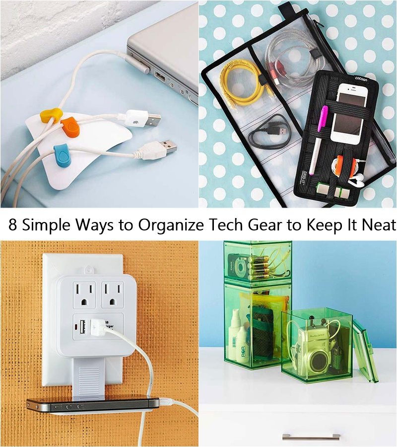 18 Easy Budget Decorating Ideas That Won T Break The Bank: 8 Simple Ways To Organize Tech Gear To Keep It Neat