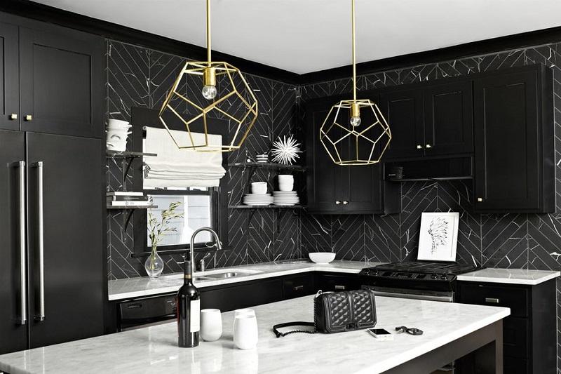 Beautiful Black Kitchen
