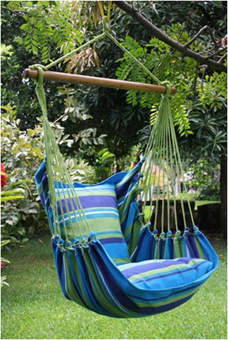 Blue Hammock Chair