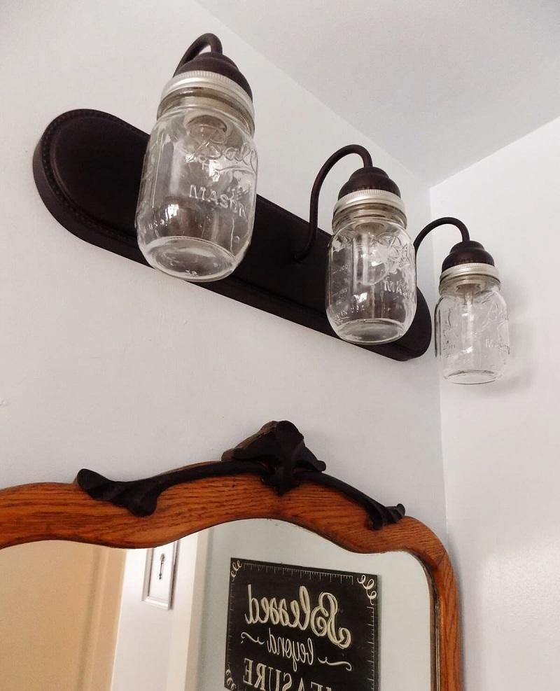 Triple Bulb Industrial Themed