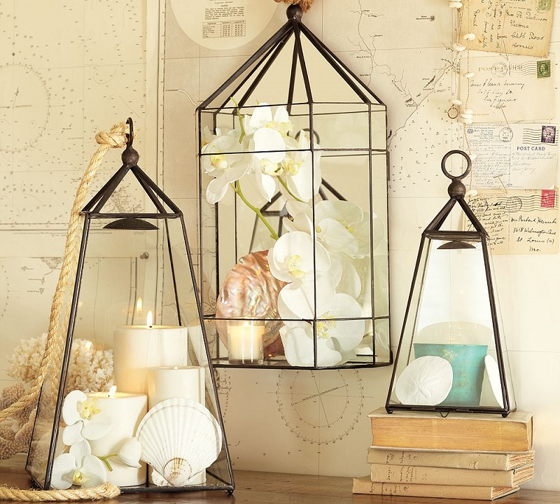 Vintage Lantern Decor