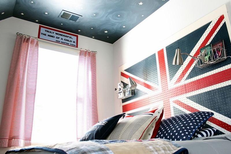 Boy Bedroom Headboard