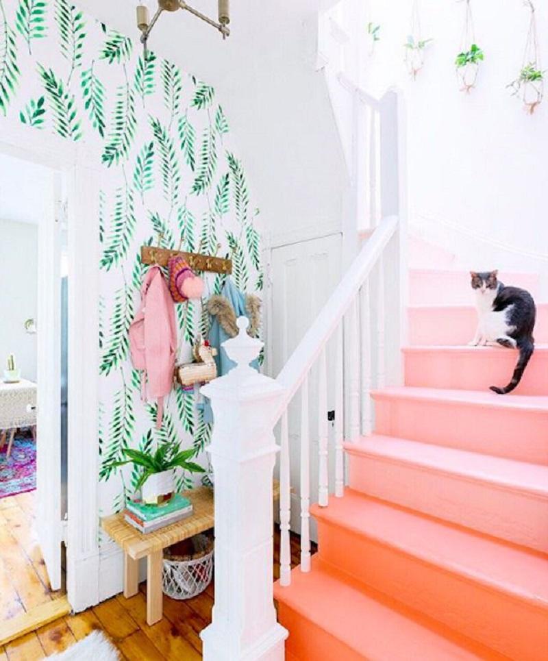 Peach Stairs