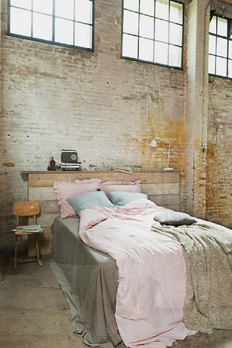 Warehouse Style Bedroom