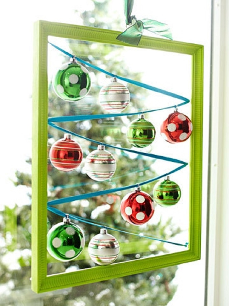 Christmas Ornament Display