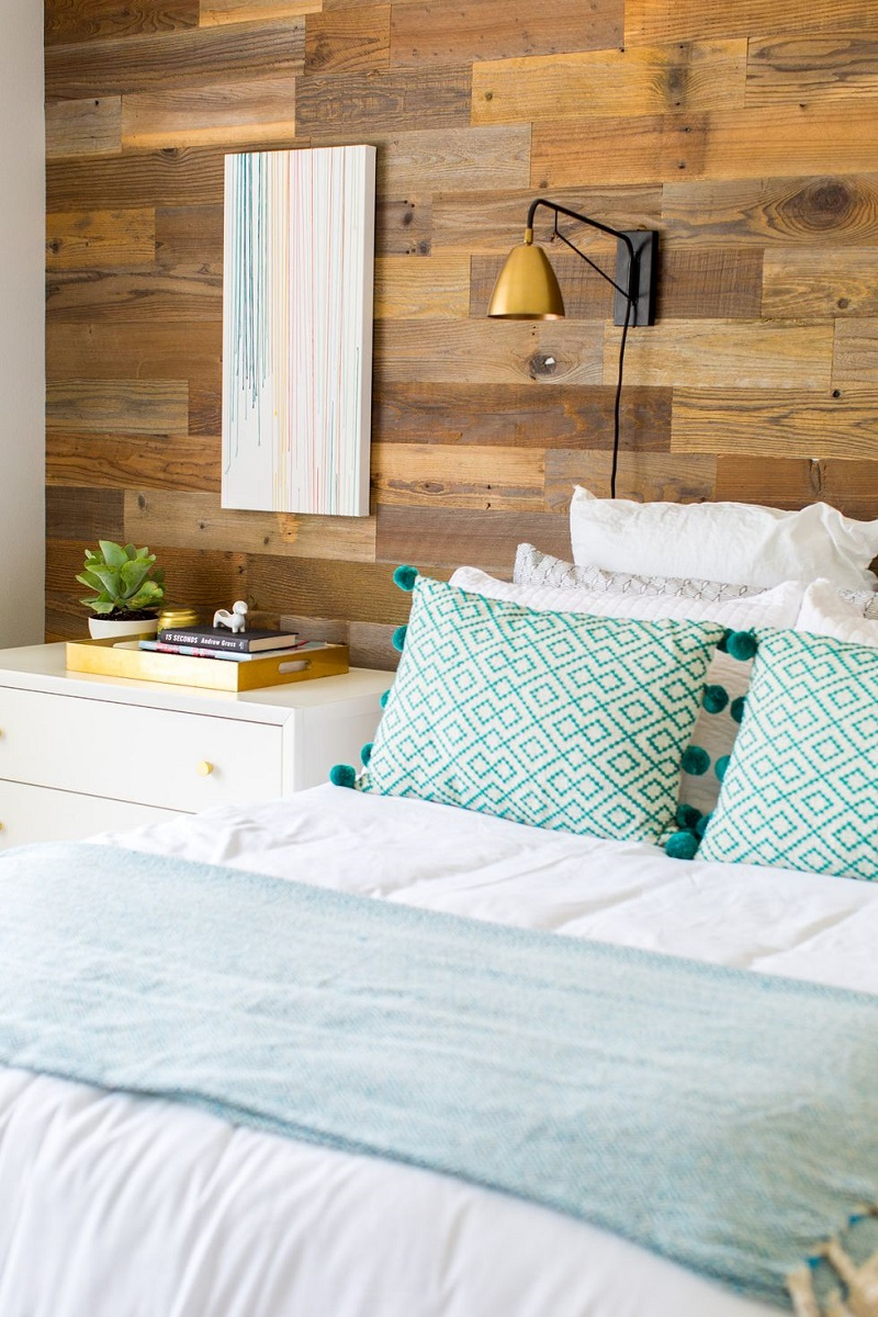 DIY A Wooden Wall