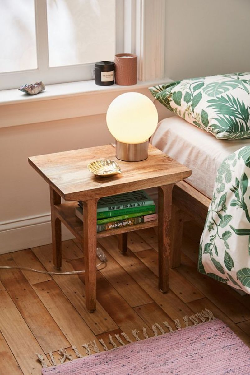 Mango Wood Nightstand