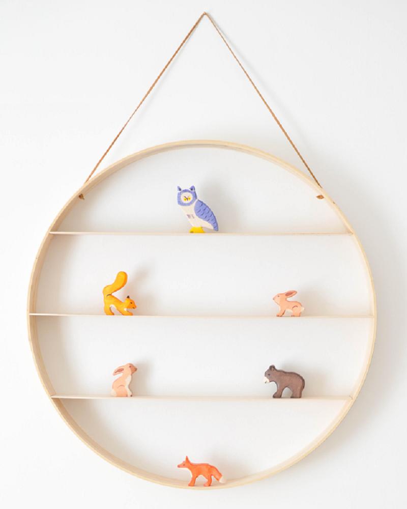 Circle Shelves