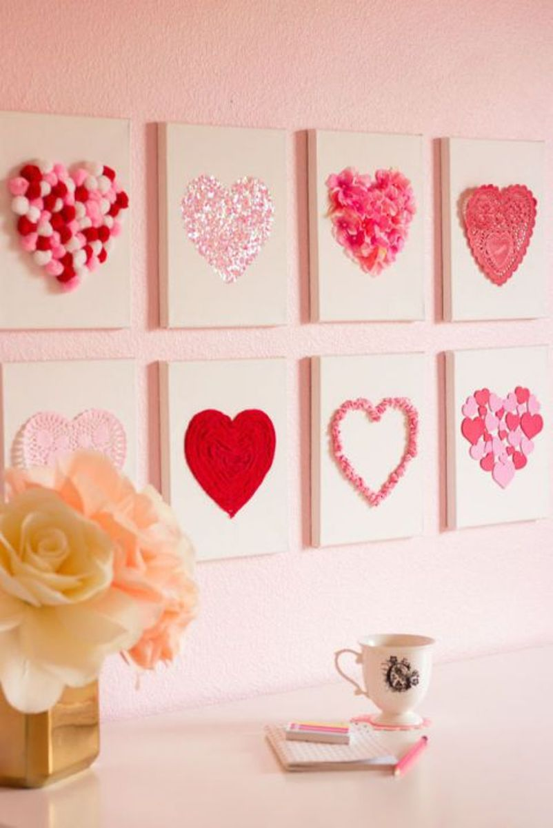 Heart Art Canvases