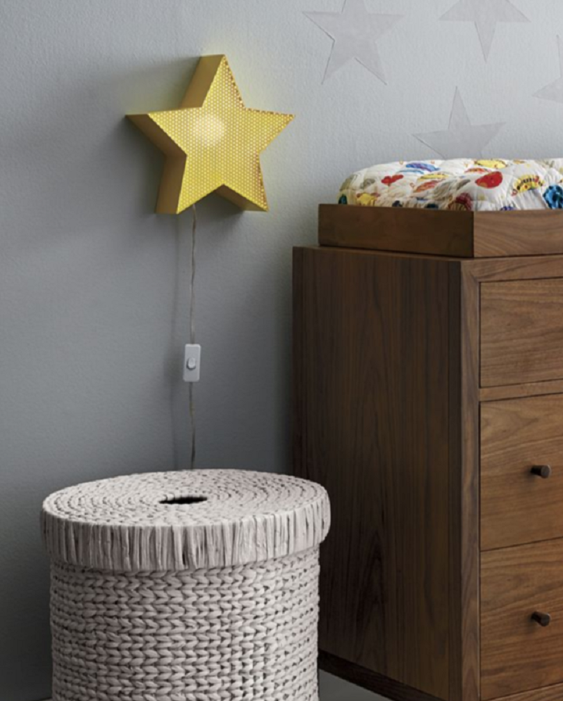 Metal Star Night Light