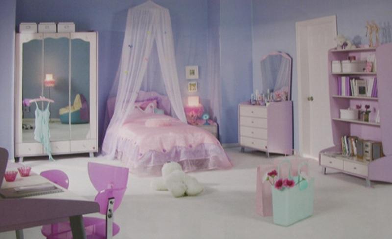 Pink Fairy Tale Bedroom