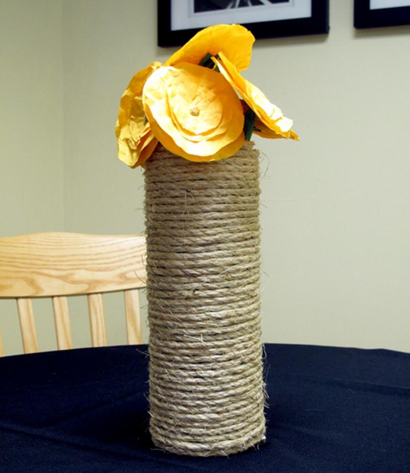 Rope Vases