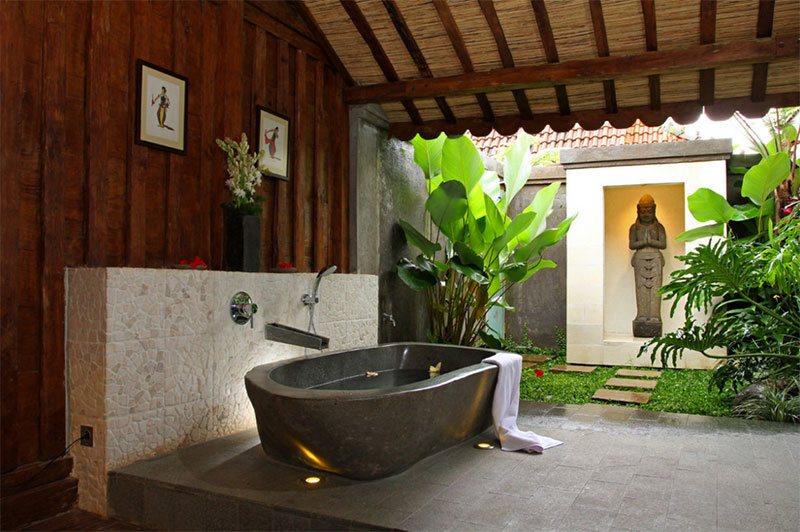 Bathroom With Veranda