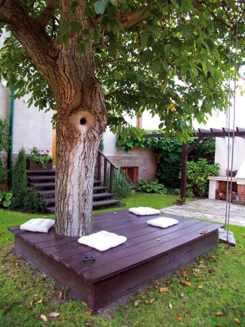 Bench Around A Tree