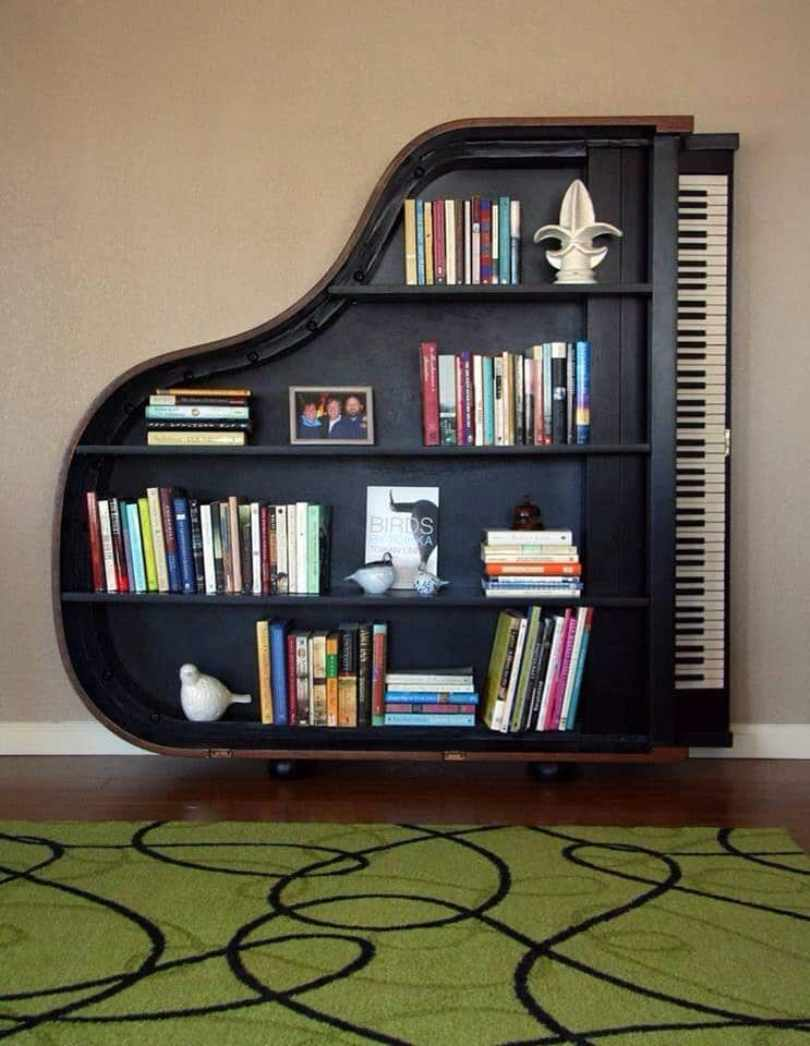 Bookcase From Piano