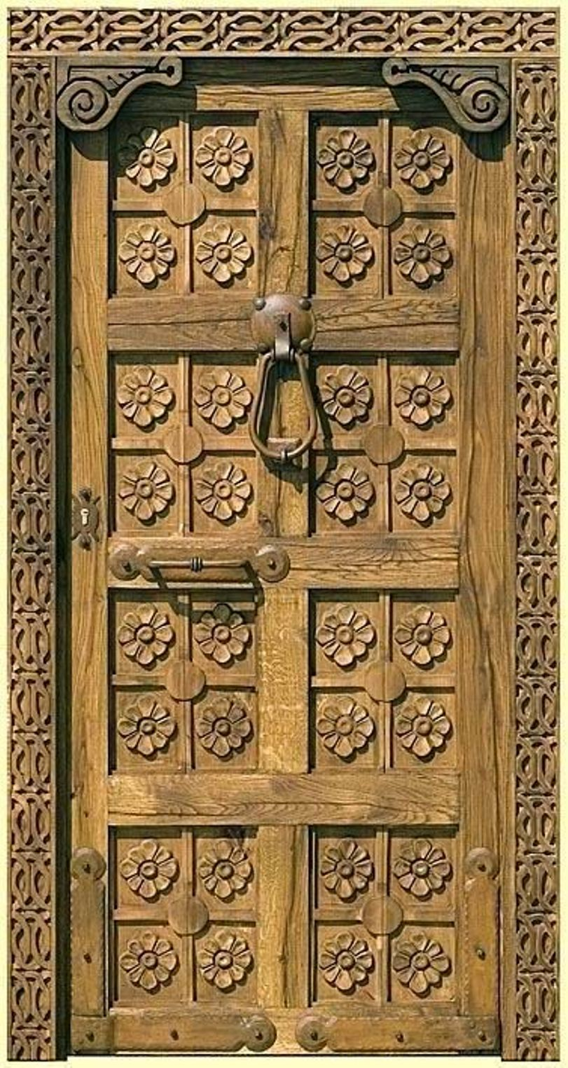 Door With Scale Key