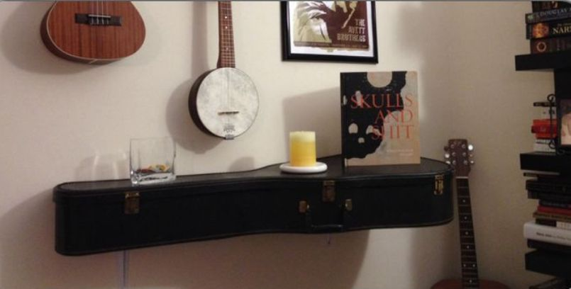 Great Shelf From Old Guitar