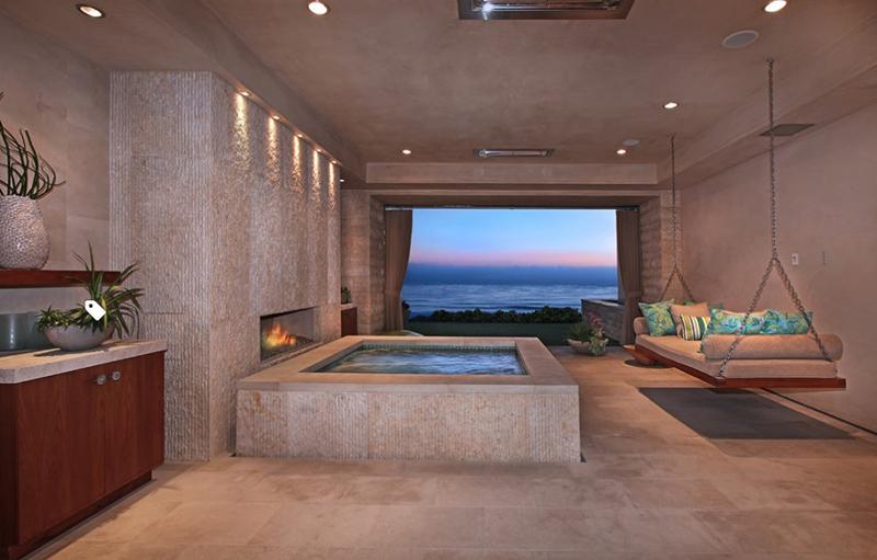 Indoor Jacuzzi Near A Beach