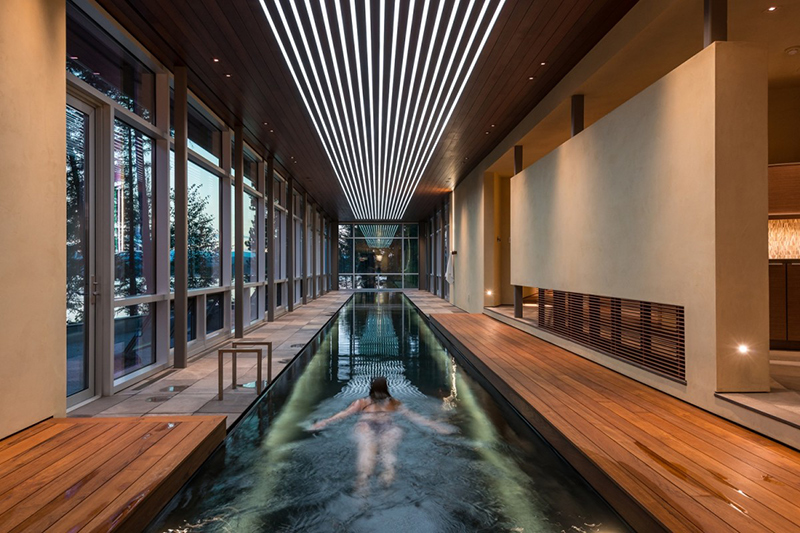 Indoor Pool With More Window