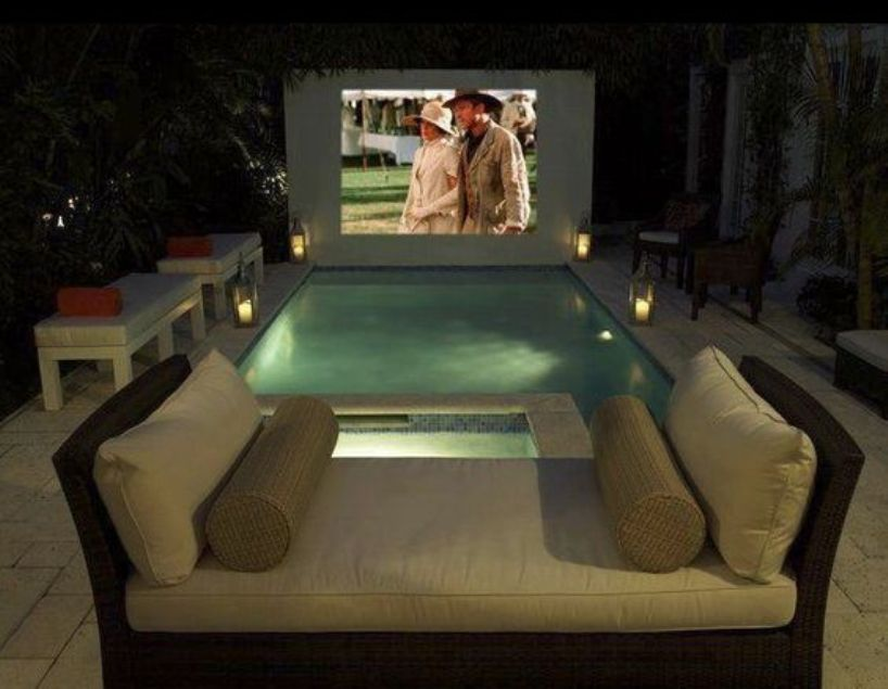 Jacuzzi And Romantic Movie