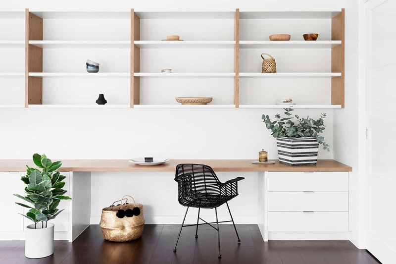 Plenty Storage Scandinavian Home Office