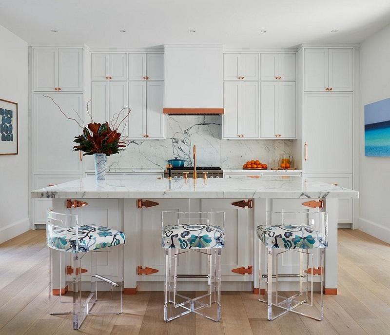 Polished Beach Style Kitchen