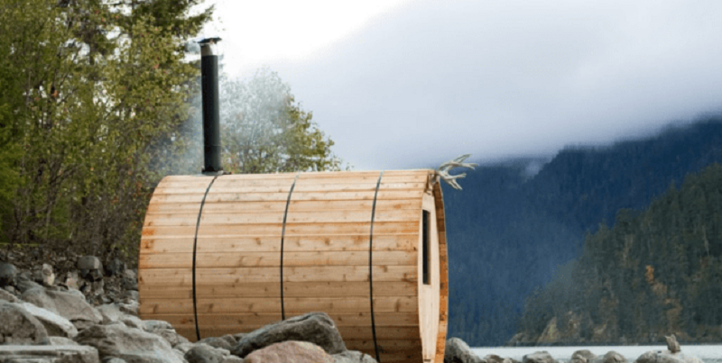 The Cedar Barrel Sauna