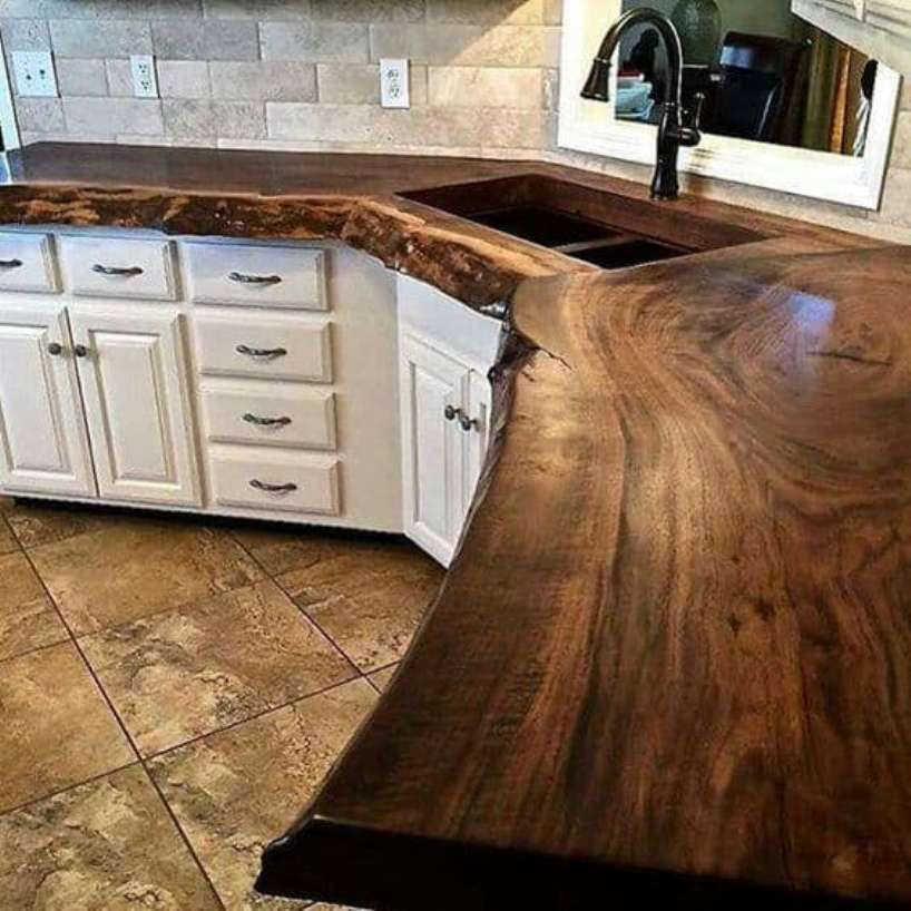 Varnish And Epoxy Wood