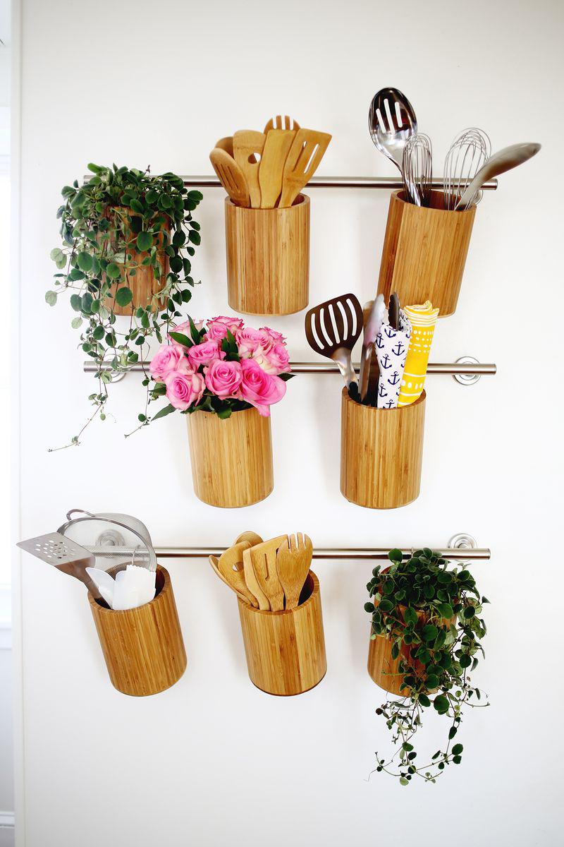 Vertical Kitchen Storage