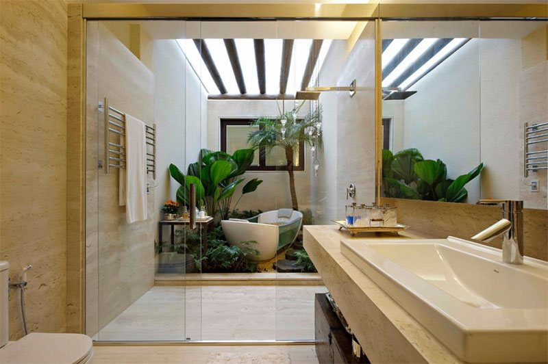 With Bathtub And Shower