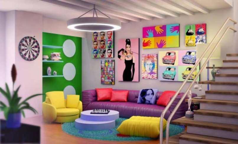 Brighter Living Room