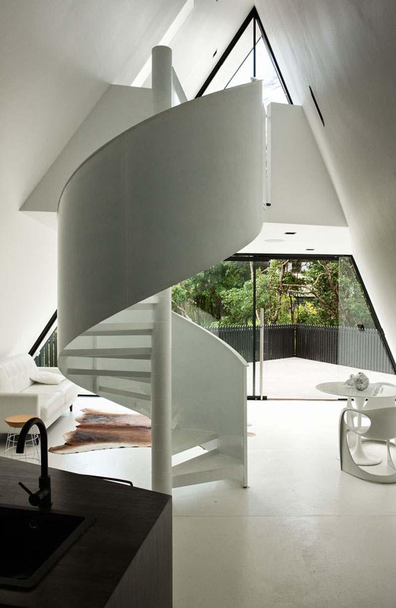 Cabin Spiral Stairs