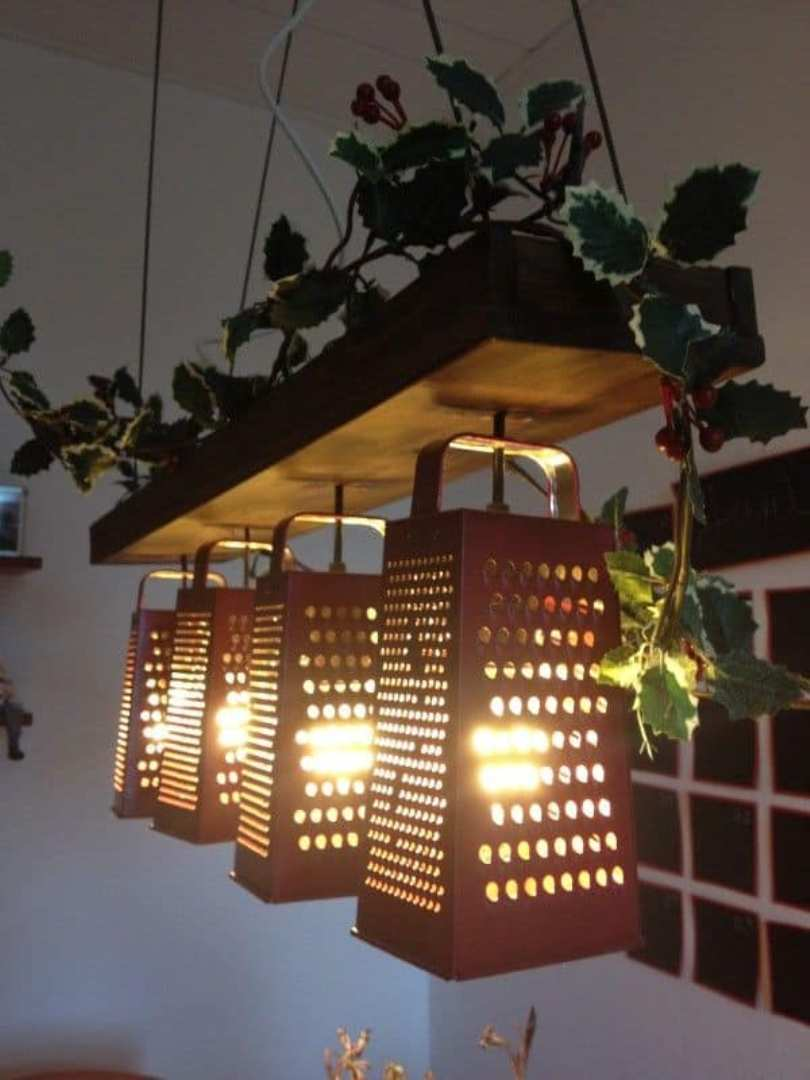 Hanging Grater Shade