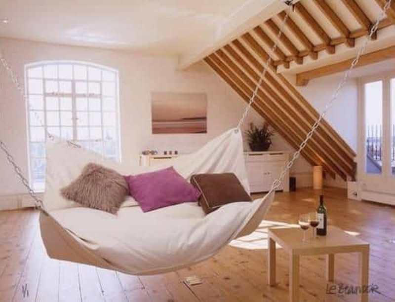 Attic Swing Bed