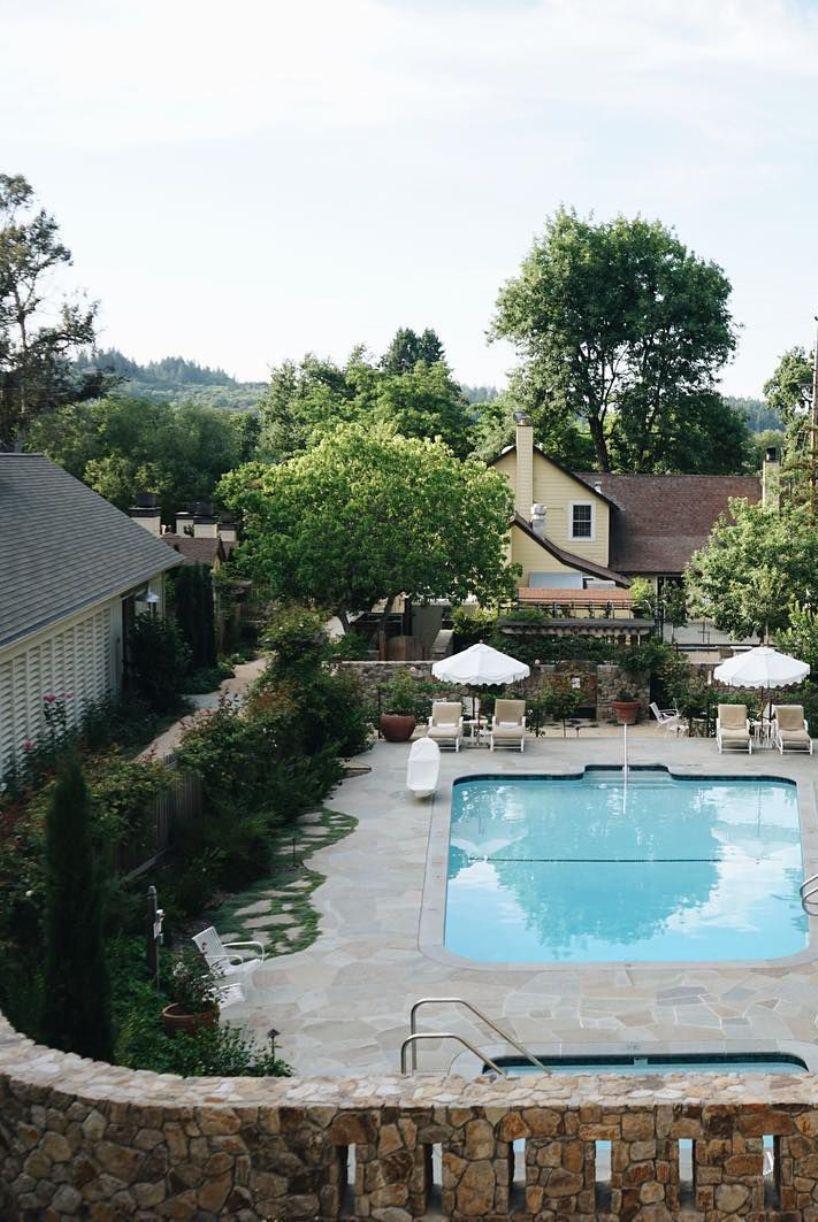 Backyard Privacy With Stone