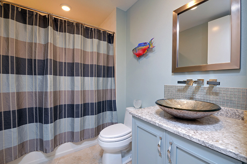 Beach Condo Bathroom