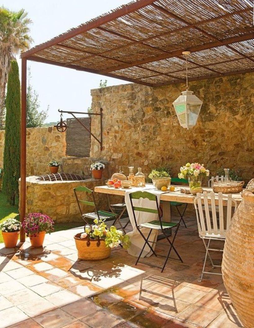 French Famrhouse Patio