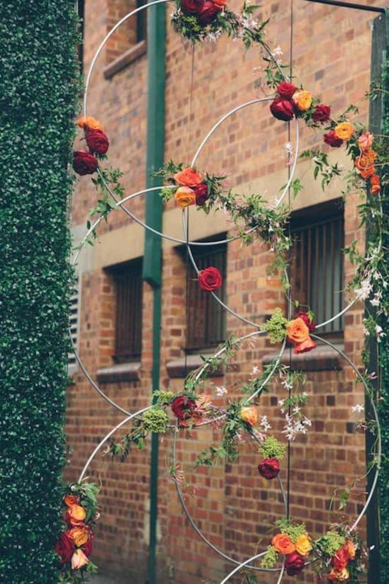 Hula Hoop Wreaths