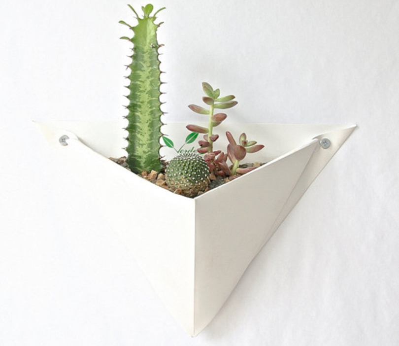 Origami Wall Planter