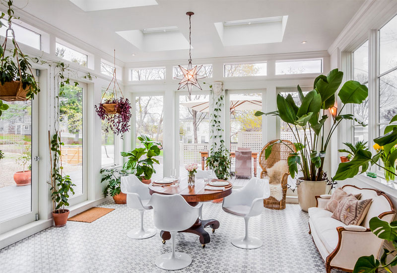 Plants To Decorate Sunroom