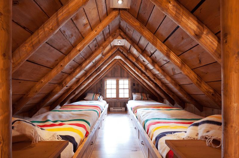Rustic Guest Room