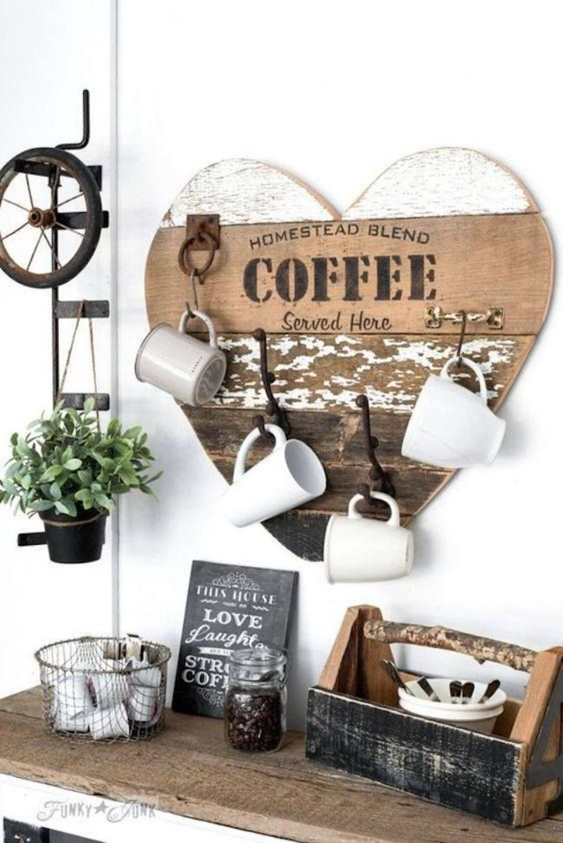Rustic Style Coffee Bar
