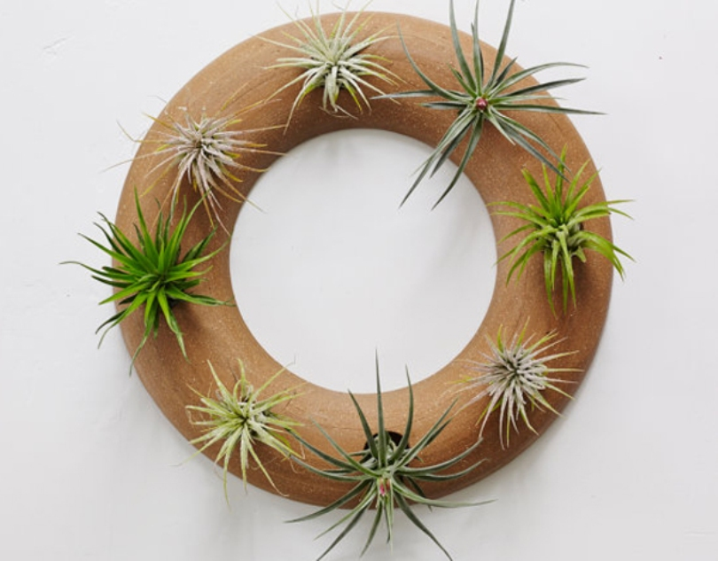 Wreath Wall Planter
