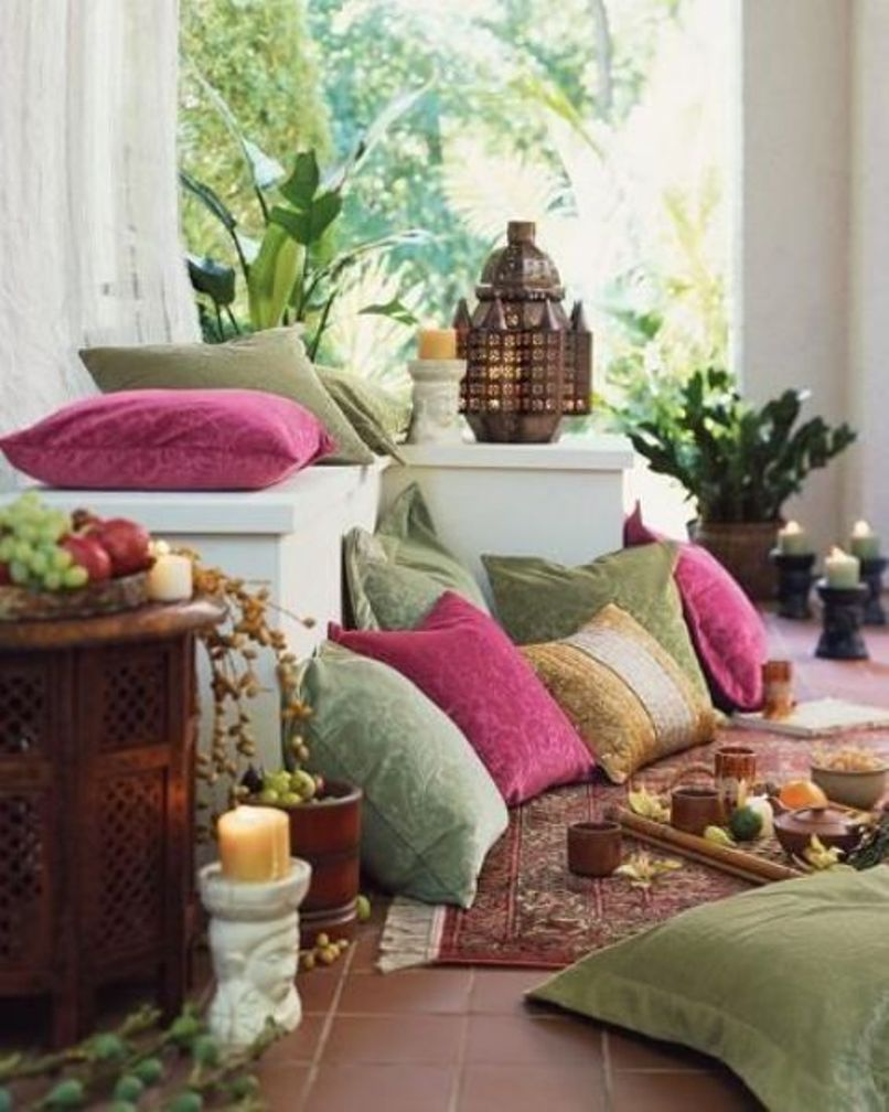 An Exotic Moroccan Patio