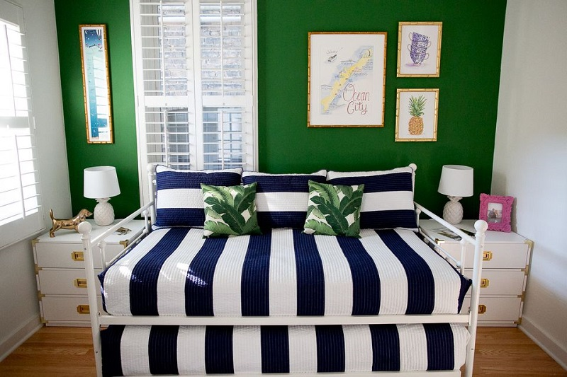 Bold And Bright Guest Room