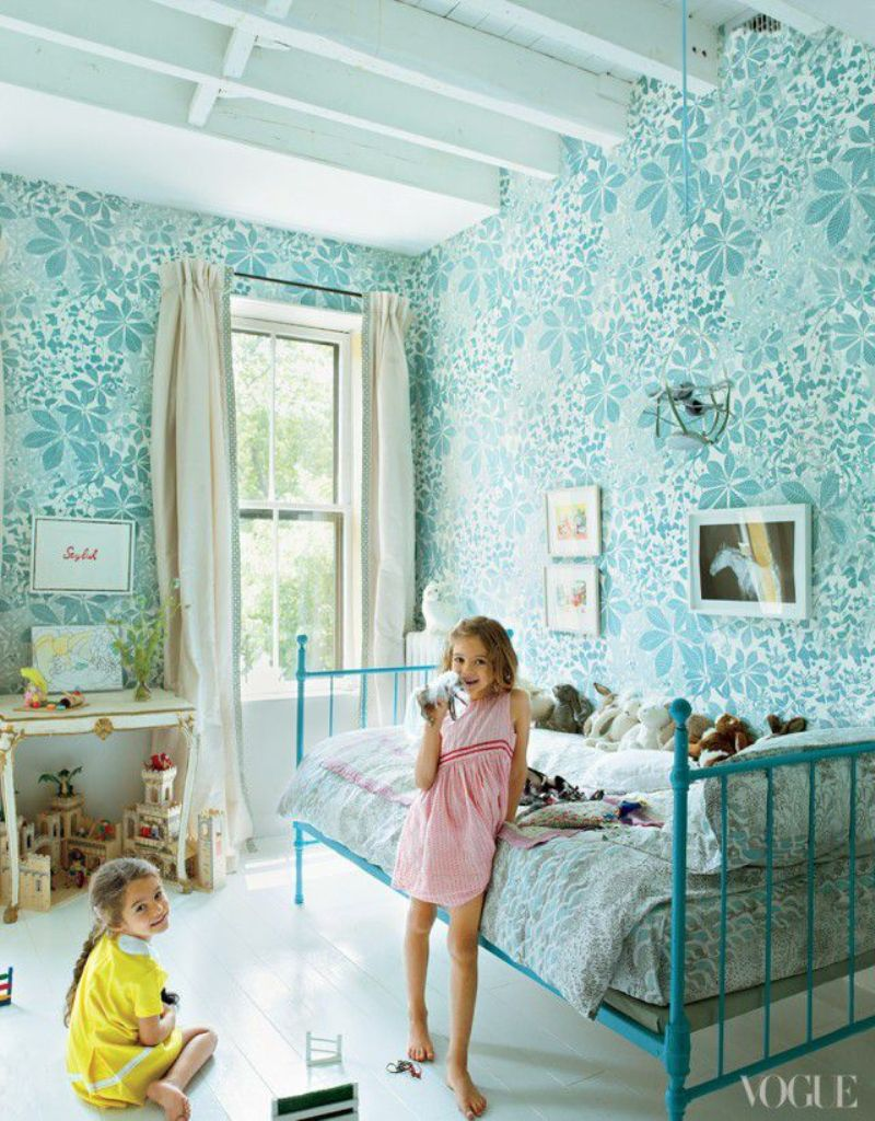 Bright And Airy Girl's Room