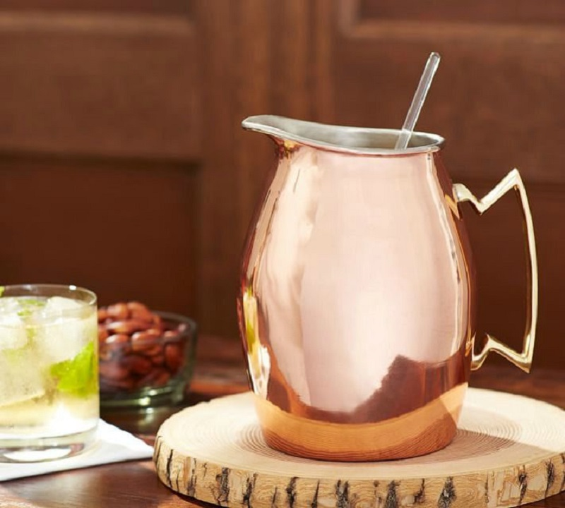 A Copper Pitcher