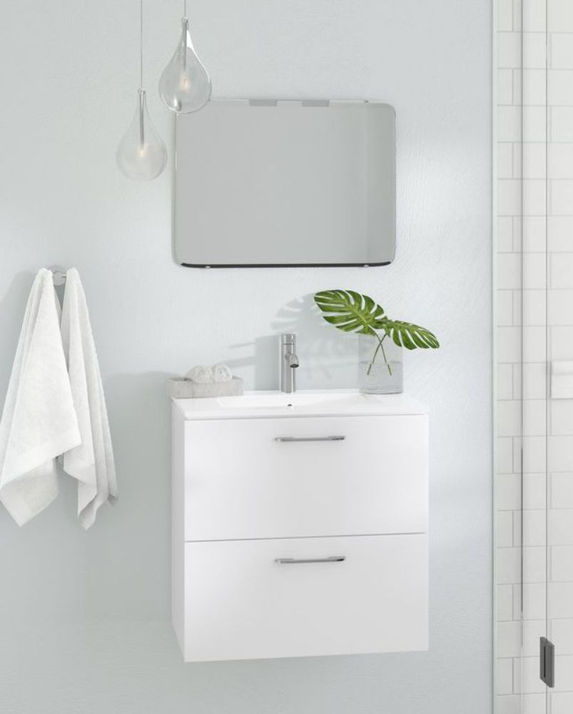 Wall Mounted Vanity Set