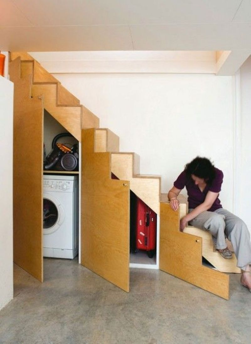 A Little Laundry And A Storage Space