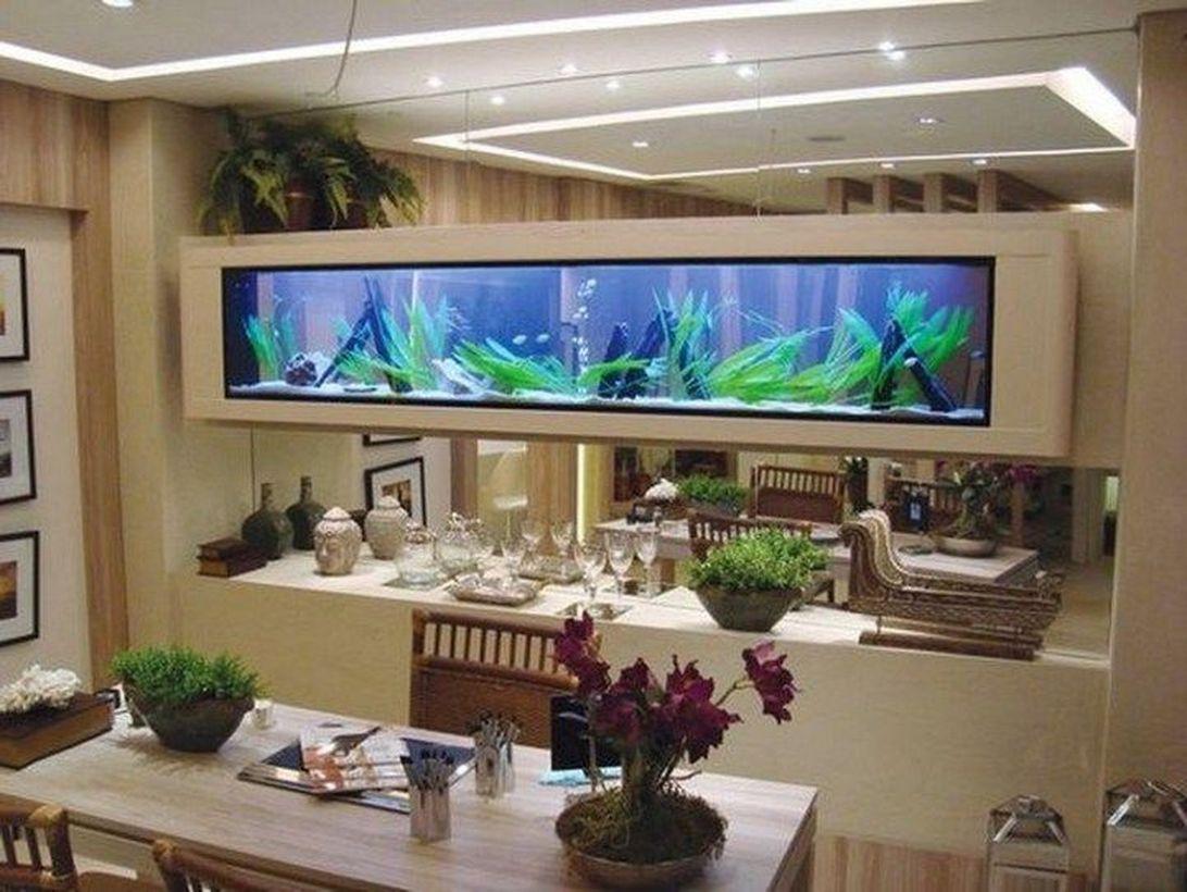 55 Wondrous Aquarium Design Ideas For